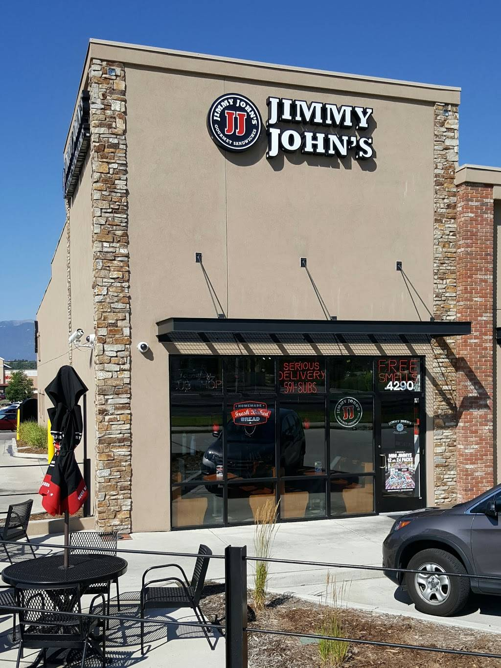 Jimmy Johns | meal delivery | 4290 N Academy Blvd, Colorado Springs, CO 80918, USA | 7195917827 OR +1 719-591-7827