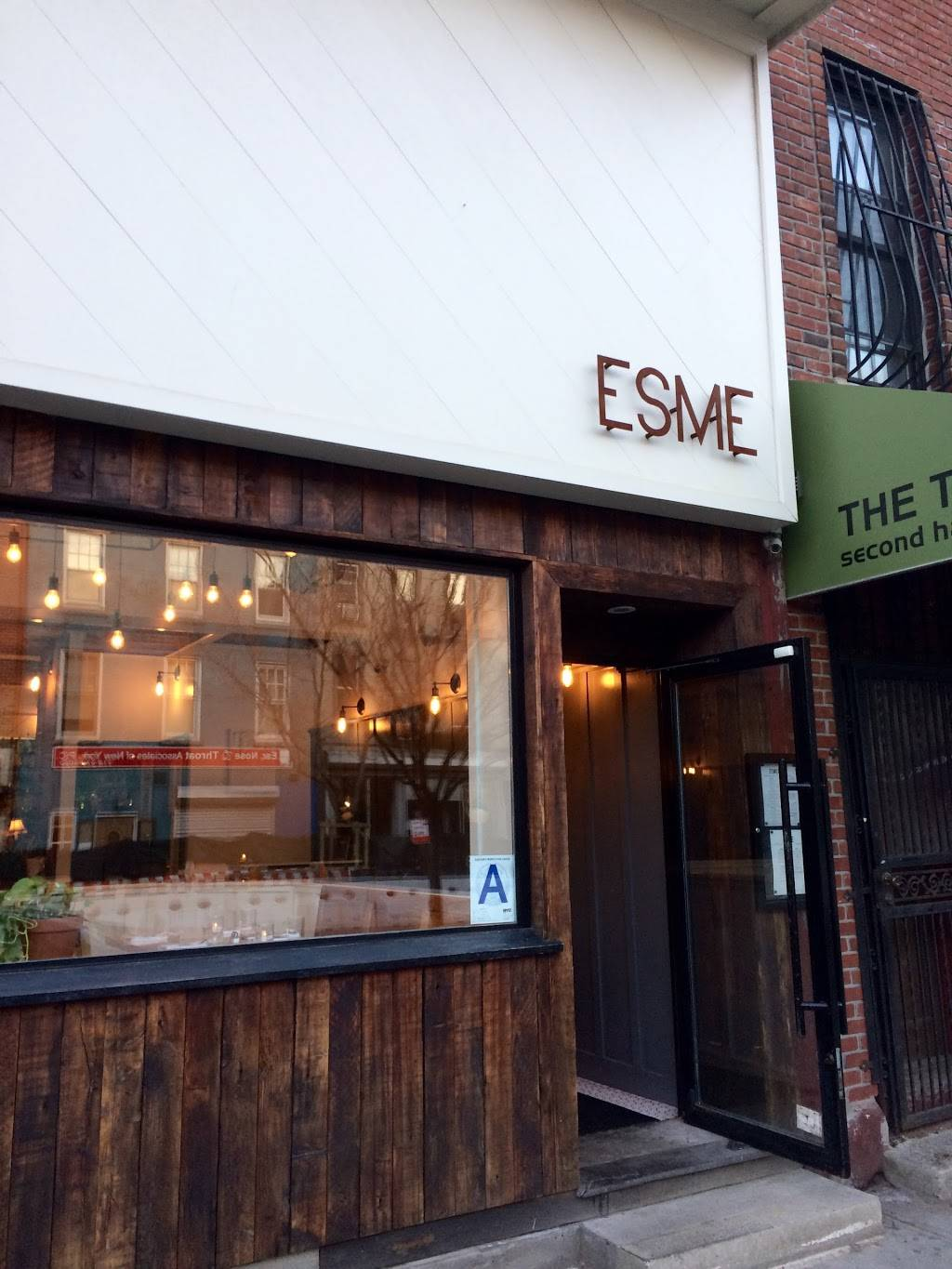 Esme | restaurant | 999 Manhattan Ave, Brooklyn, NY 11222, USA | 7183830999 OR +1 718-383-0999