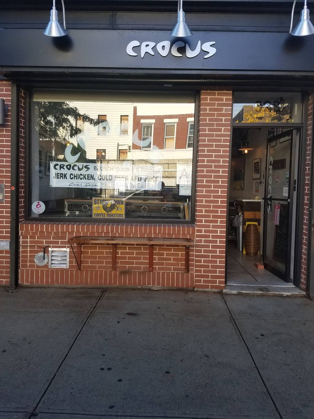 Crocus Cafe Juice Bar & Grill | cafe | 328 Tompkins Ave, Brooklyn, NY 11216, USA | 7182301639 OR +1 718-230-1639