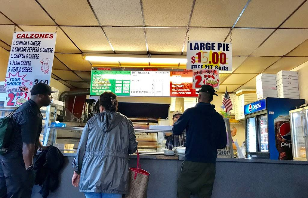 Anthonys Pizza   restaurant   715 Morris Park Ave, Bronx, NY 10462, USA   7187926020 OR +1 718-792-6020