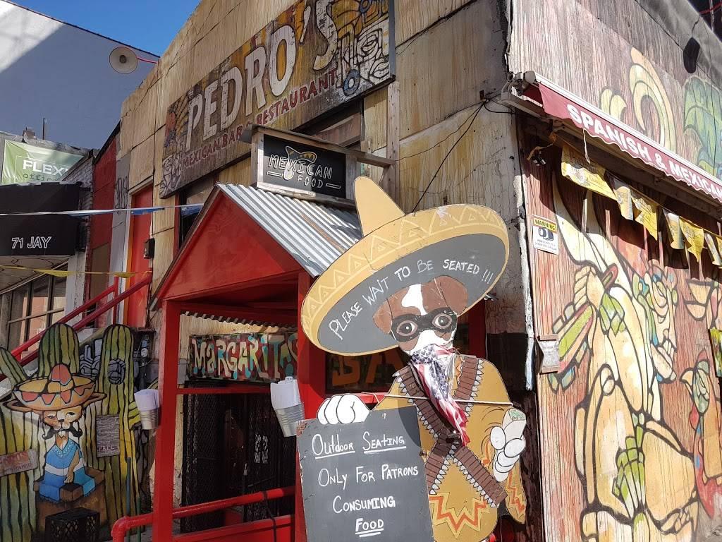Pedros   restaurant   73 Jay St, Brooklyn, NY 11201, USA   7187972851 OR +1 718-797-2851