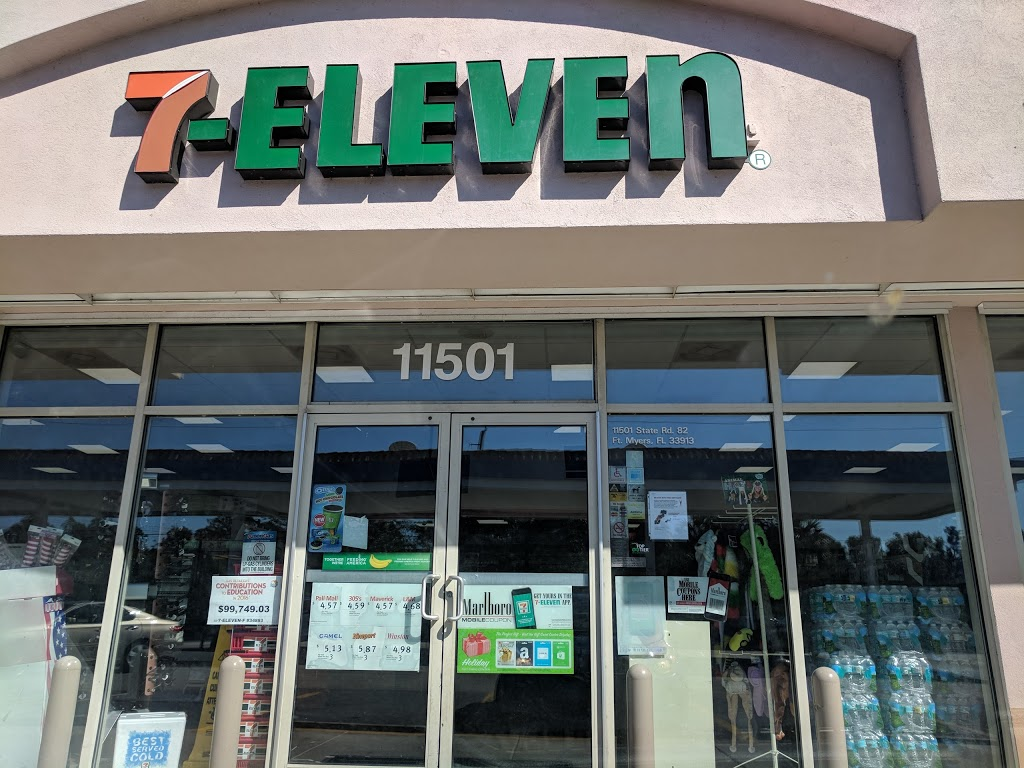 7-Eleven - Closed | bakery | 11501 FL-82, Fort Myers, FL 33913, USA | 2393373966 OR +1 239-337-3966