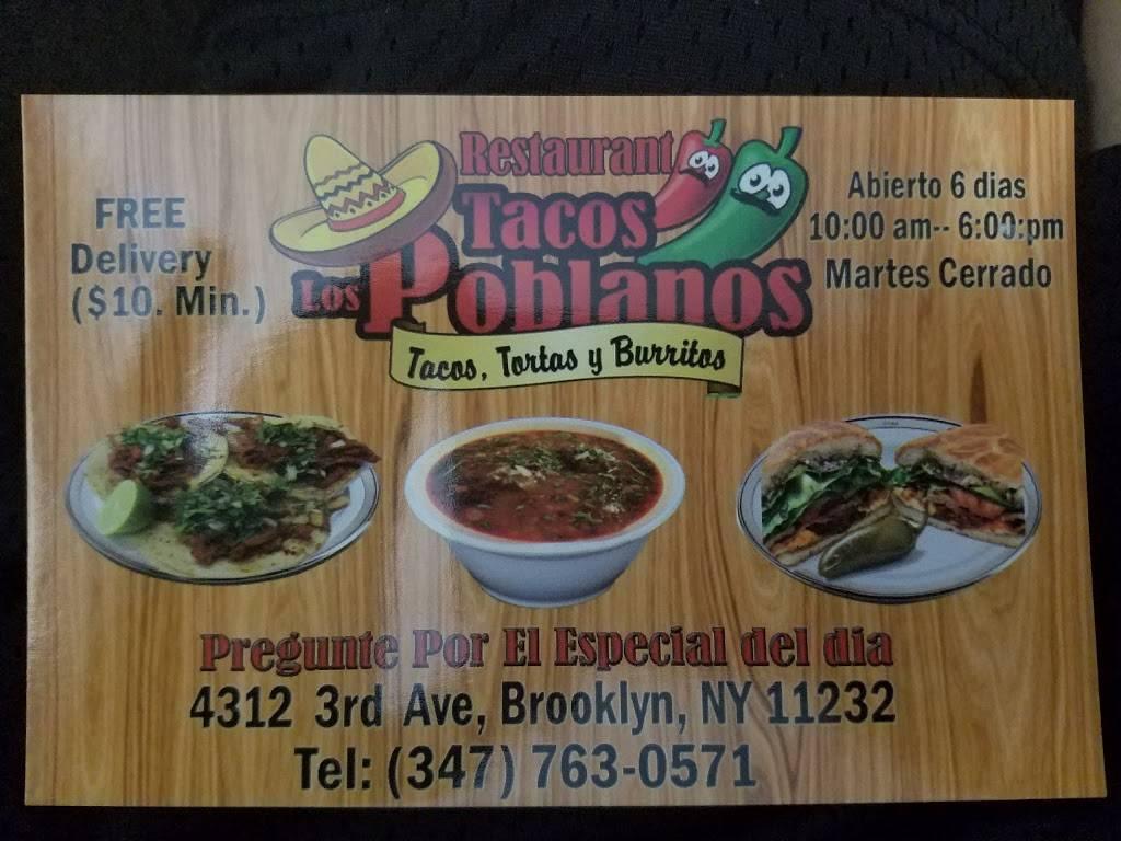 Los Poblanos   restaurant   4312 3rd Ave, Brooklyn, NY 11232, USA   3477630571 OR +1 347-763-0571