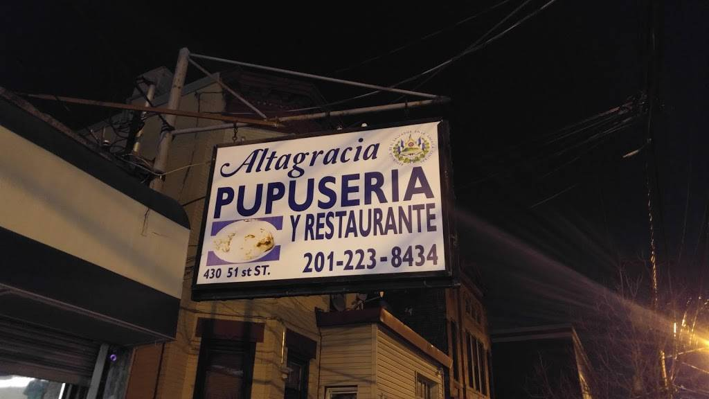 Altagracia Pupuseria y Restaurante | restaurant | 430 51st St, West New York, NJ 07093, USA | 2012238434 OR +1 201-223-8434