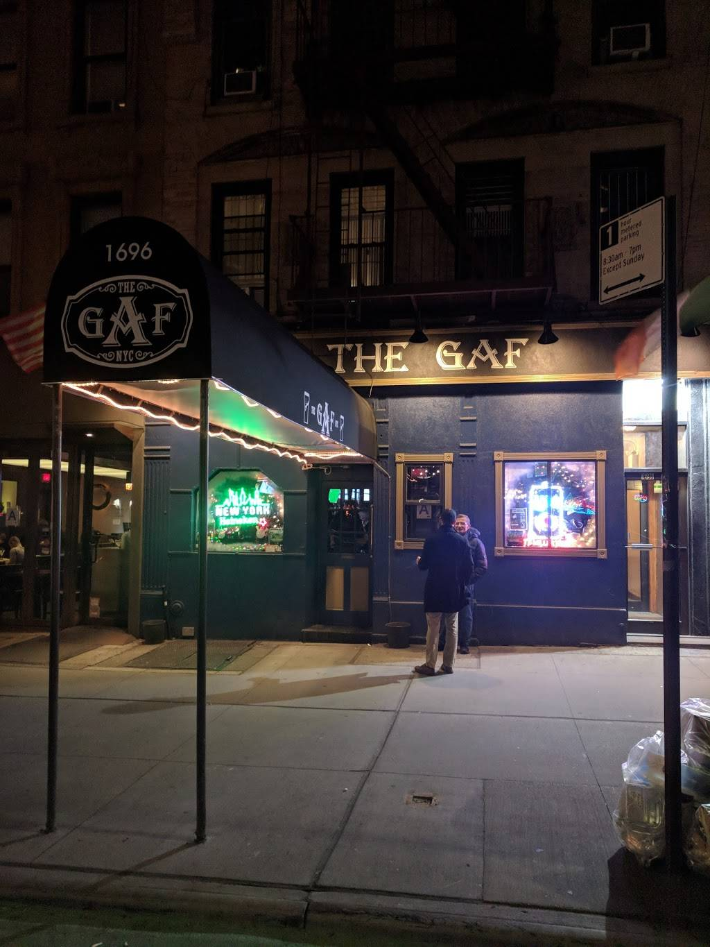 The Gaf | restaurant | 1696 2nd Ave, New York, NY 10128, USA