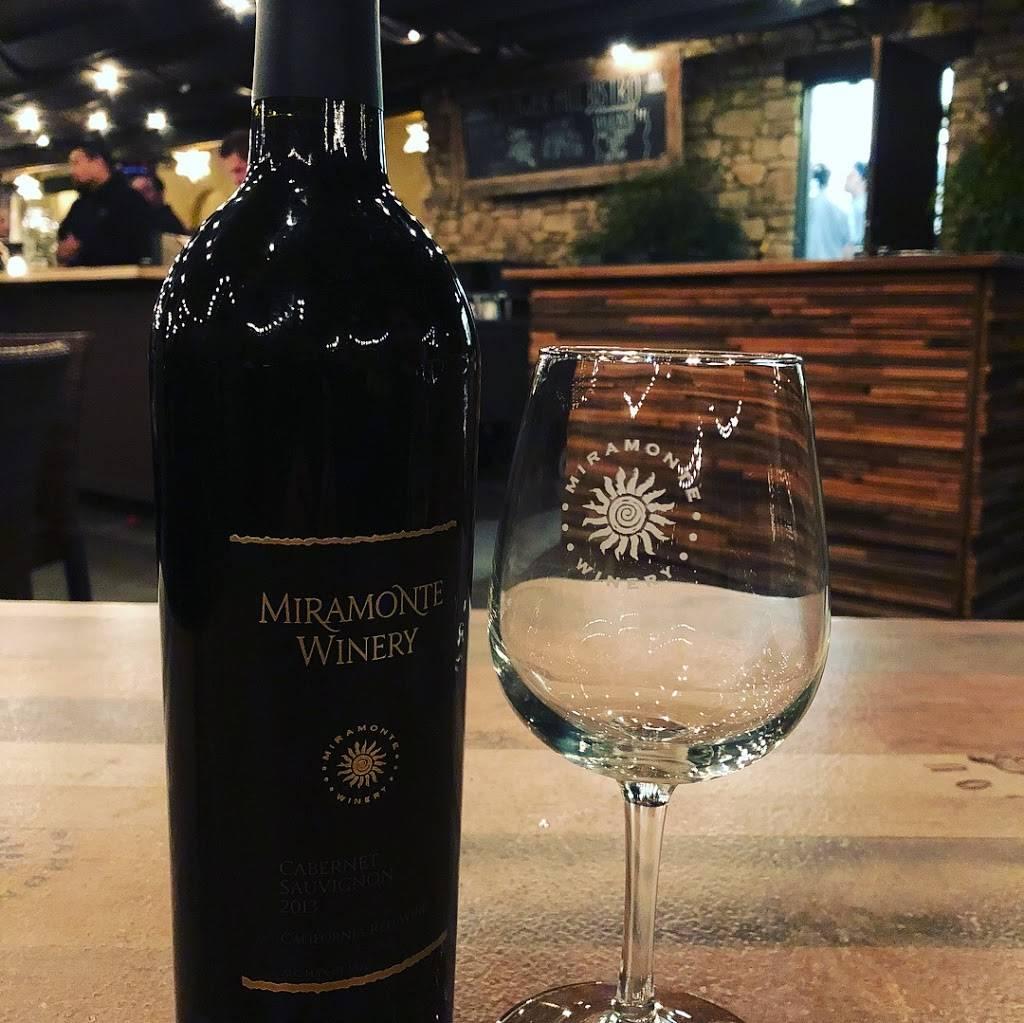 Miramonte Winery | restaurant | 33410 Rancho California Rd, Temecula, CA 92591, USA | 9515065500 OR +1 951-506-5500