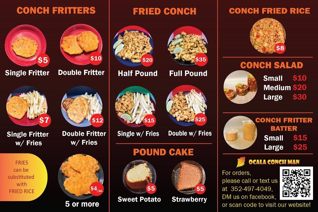 Ocala Conch Man | restaurant | FL-40, Ocala, FL 34474, USA