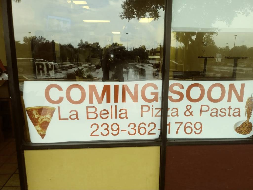 La bella pizza and pasta | restaurant | 14561 Palm Beach Blvd #48, Fort Myers, FL 33905, USA