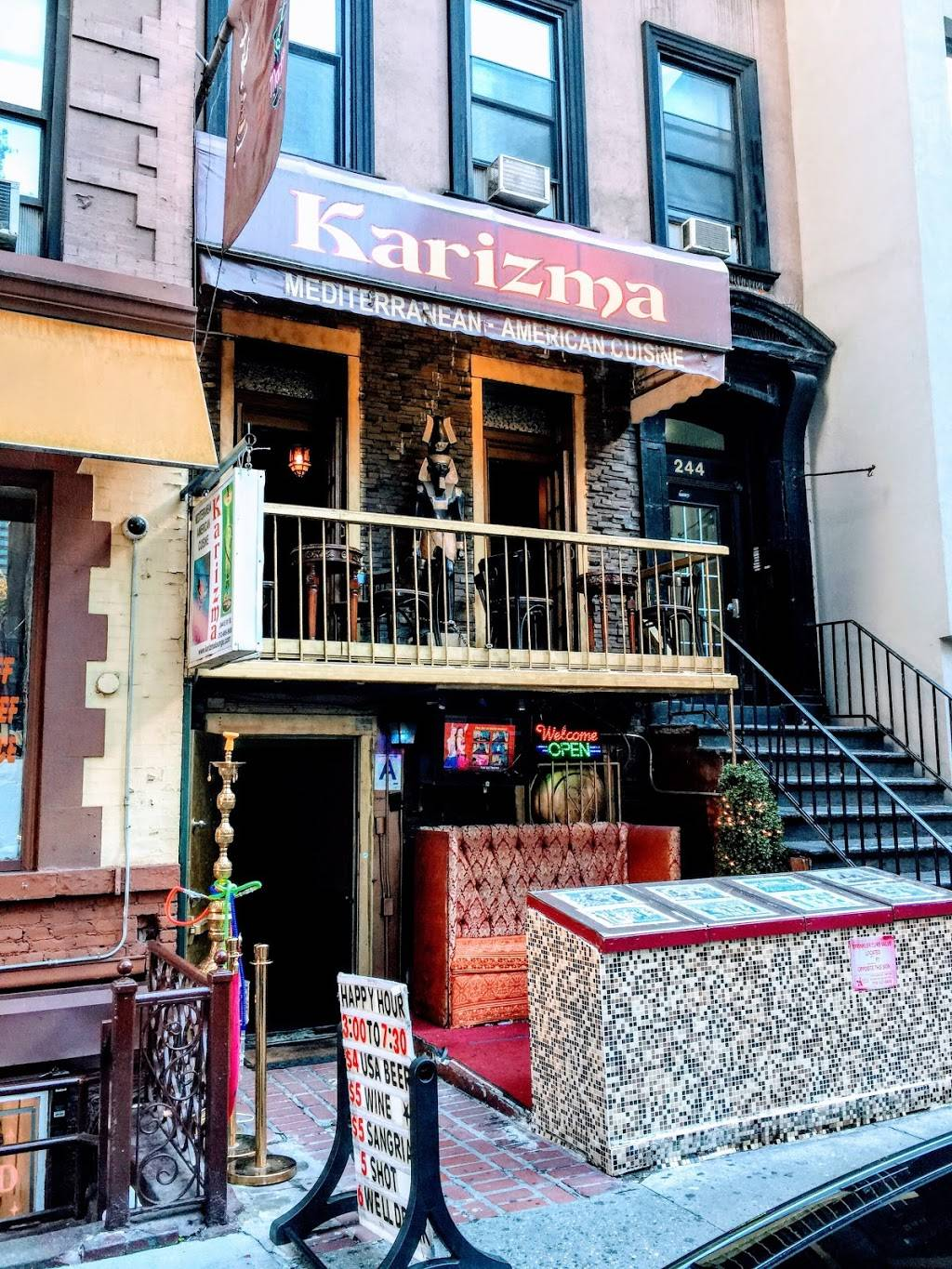 Karizma Lounge | restaurant | 244 E 51st St, New York, NY 10022, USA | 2126059988 OR +1 212-605-9988