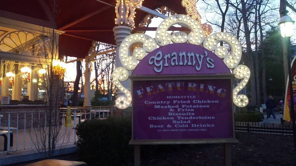 Granny S Country Fried Chicken Restaurant Six Flags Great Adventure Jackson Nj 08527 Usa