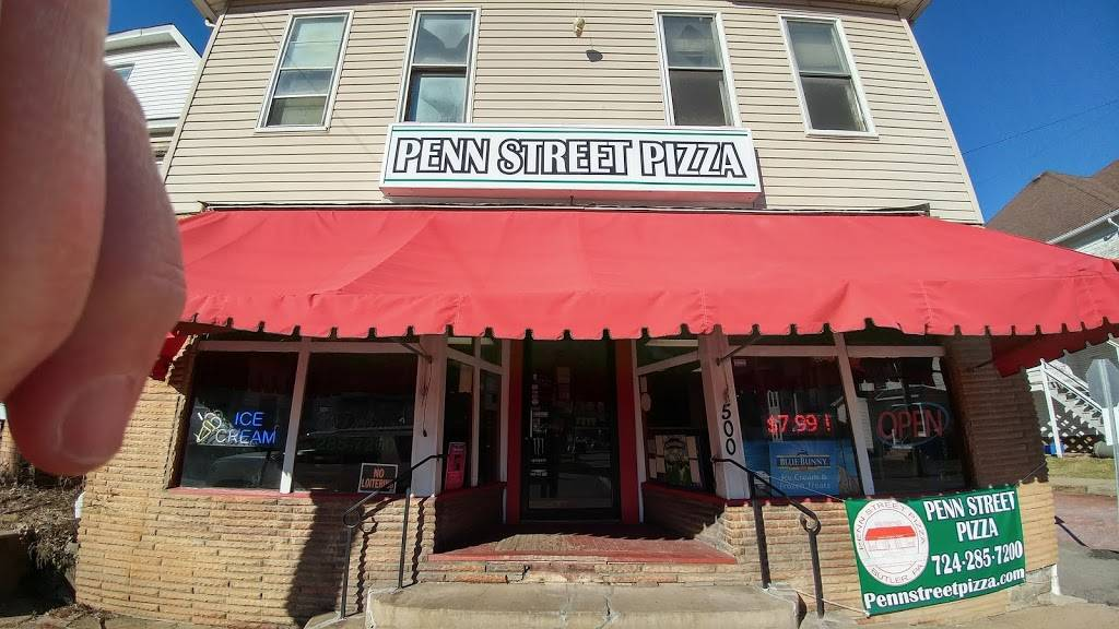 Penn Street Pizza | meal takeaway | 500 W Penn St, Butler, PA 16001, USA | 7242857200 OR +1 724-285-7200