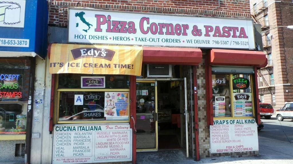 Pizza Corner & Pasta | meal delivery | 769 Allerton Ave, Bronx, NY 10467, USA | 7187985507 OR +1 718-798-5507