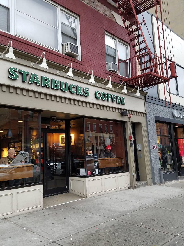 Starbucks | cafe | 314 Washington St, Hoboken, NJ 07030, USA | 2012222491 OR +1 201-222-2491