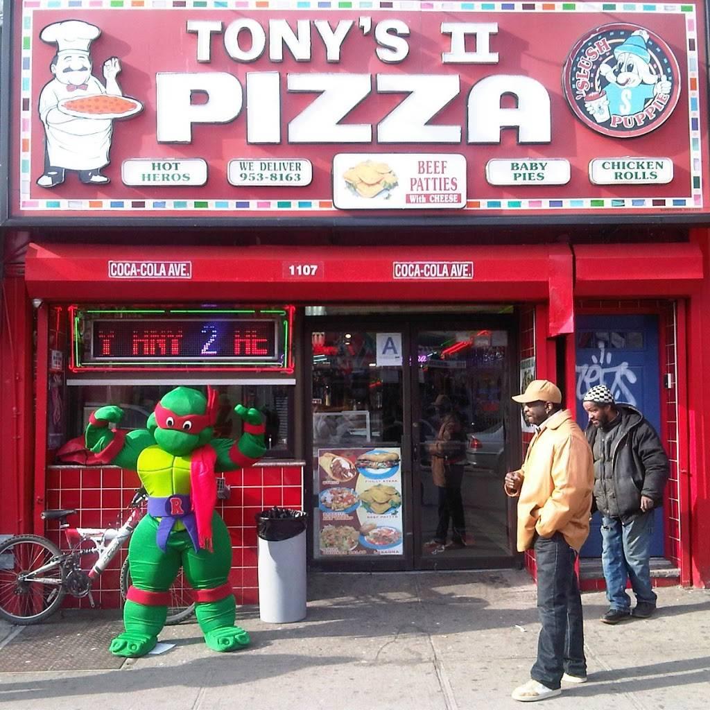 Tonys Pizza   meal delivery   1107 Rutland Rd, Brooklyn, NY 11212, USA   7189538163 OR +1 718-953-8163