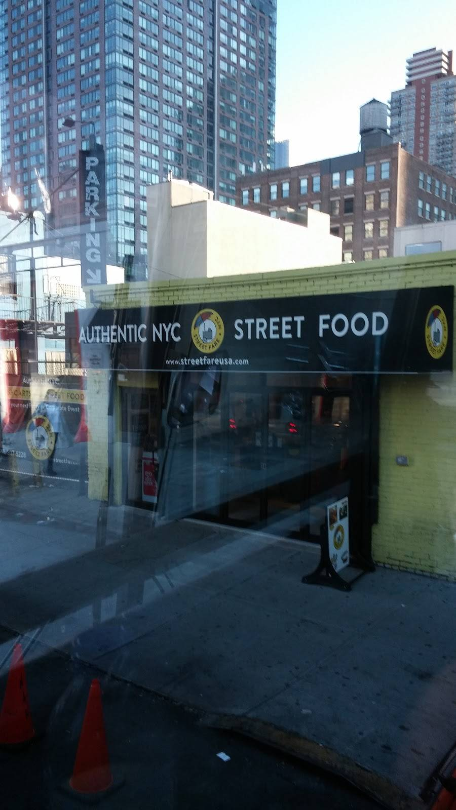 Authentic NYC Street Food | restaurant | 601-699 W 45th St, New York, NY 10036, USA
