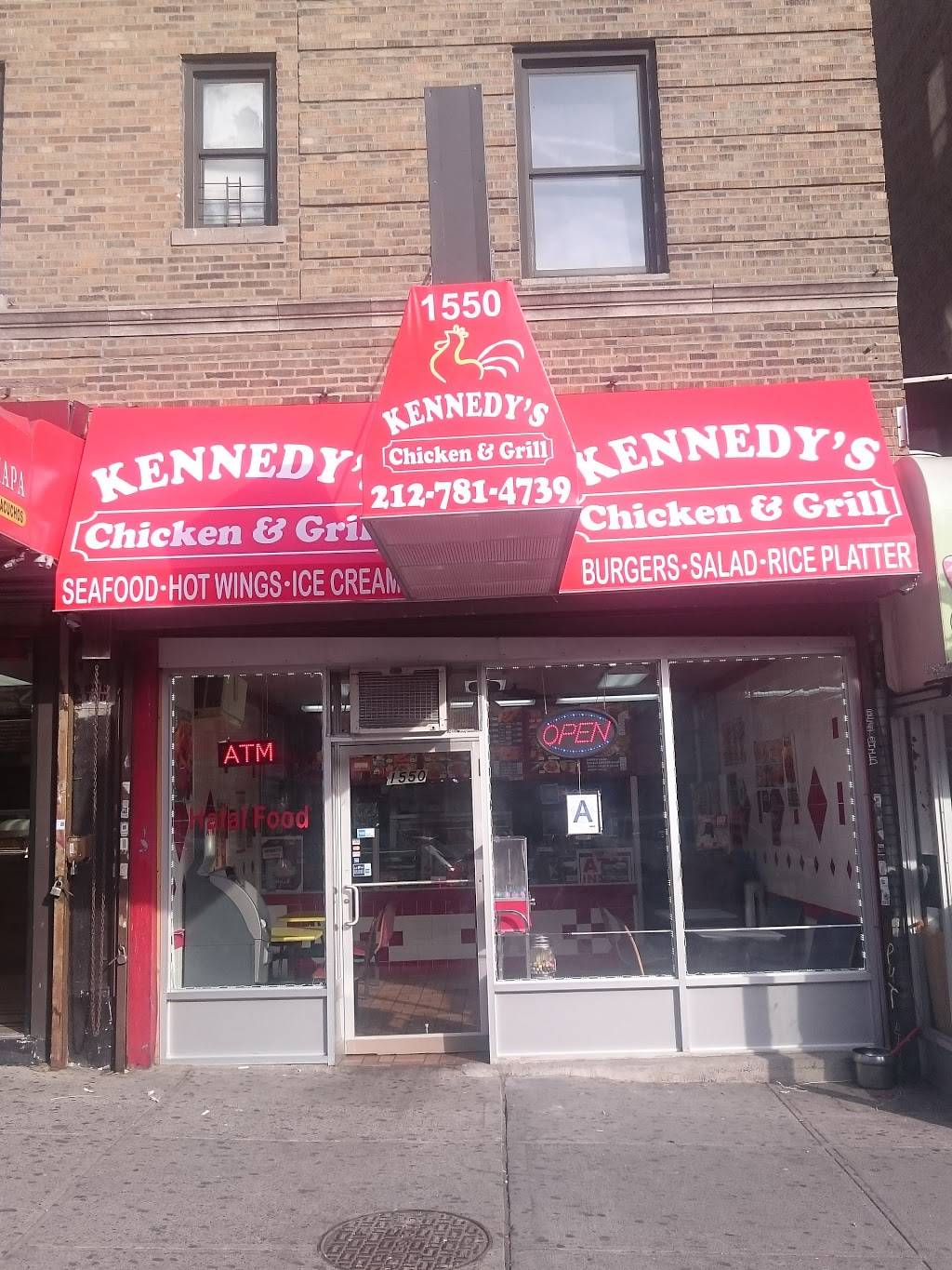 Kennedys Chicken and Grill   restaurant   1550 St Nicholas Ave, New York, NY 10040, USA   2127814739 OR +1 212-781-4739