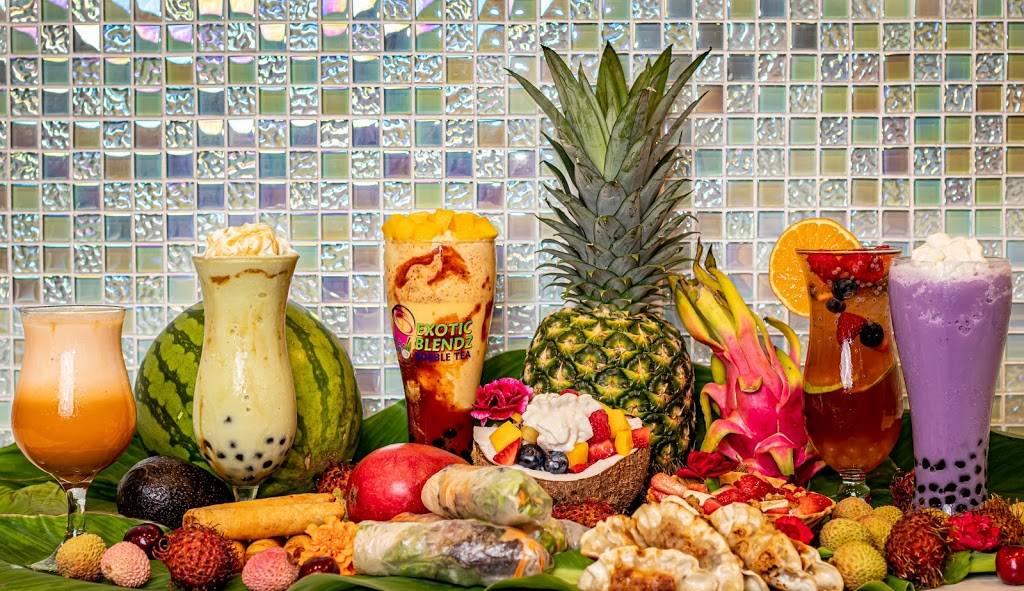 Exotic Blendz Bubble Tea | meal takeaway | 3540 W University Dr #300, McKinney, TX 75071, USA | 4696310132 OR +1 469-631-0132