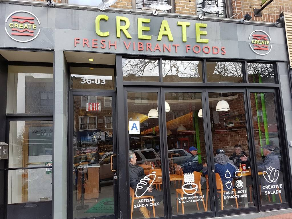 Create   meal takeaway   36-03 30th Ave, Astoria, NY 11103, USA   7182040333 OR +1 718-204-0333