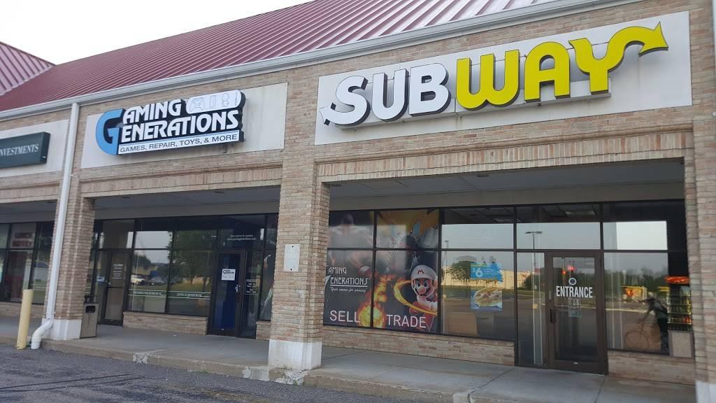 Subway Restaurant 135 Division St N Stevens Point Wi