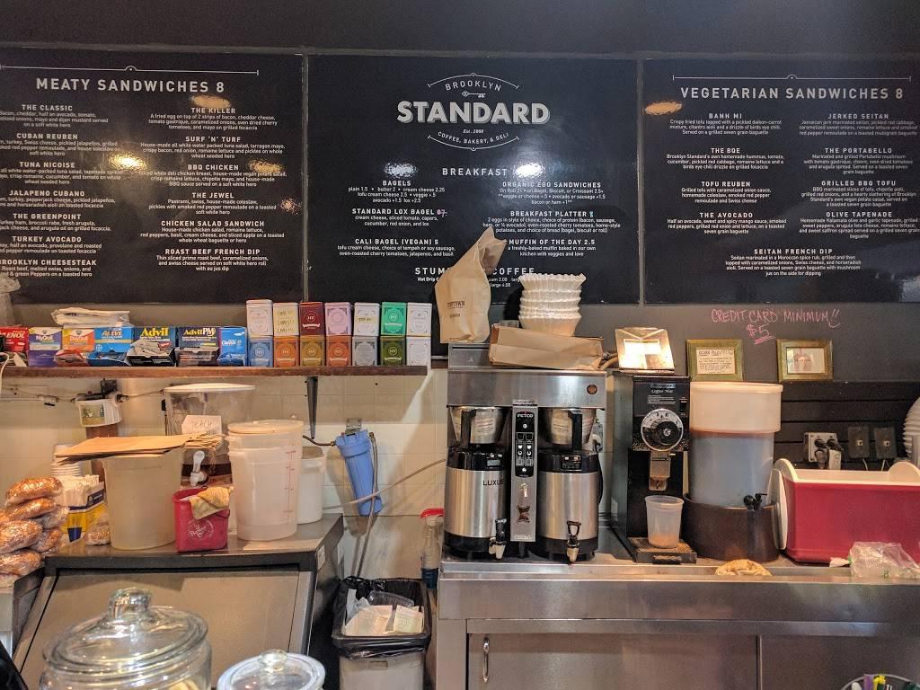 Brooklyn Standard Deli   cafe   188 Nassau Ave, Brooklyn, NY 11222, USA   7184722150 OR +1 718-472-2150