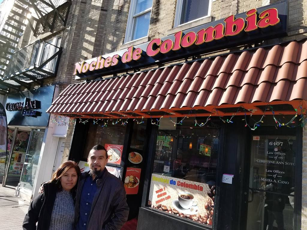 Noches De Colombia | restaurant | 6407 Bergenline Ave, West New York, NJ 07093, USA | 2016622220 OR +1 201-662-2220