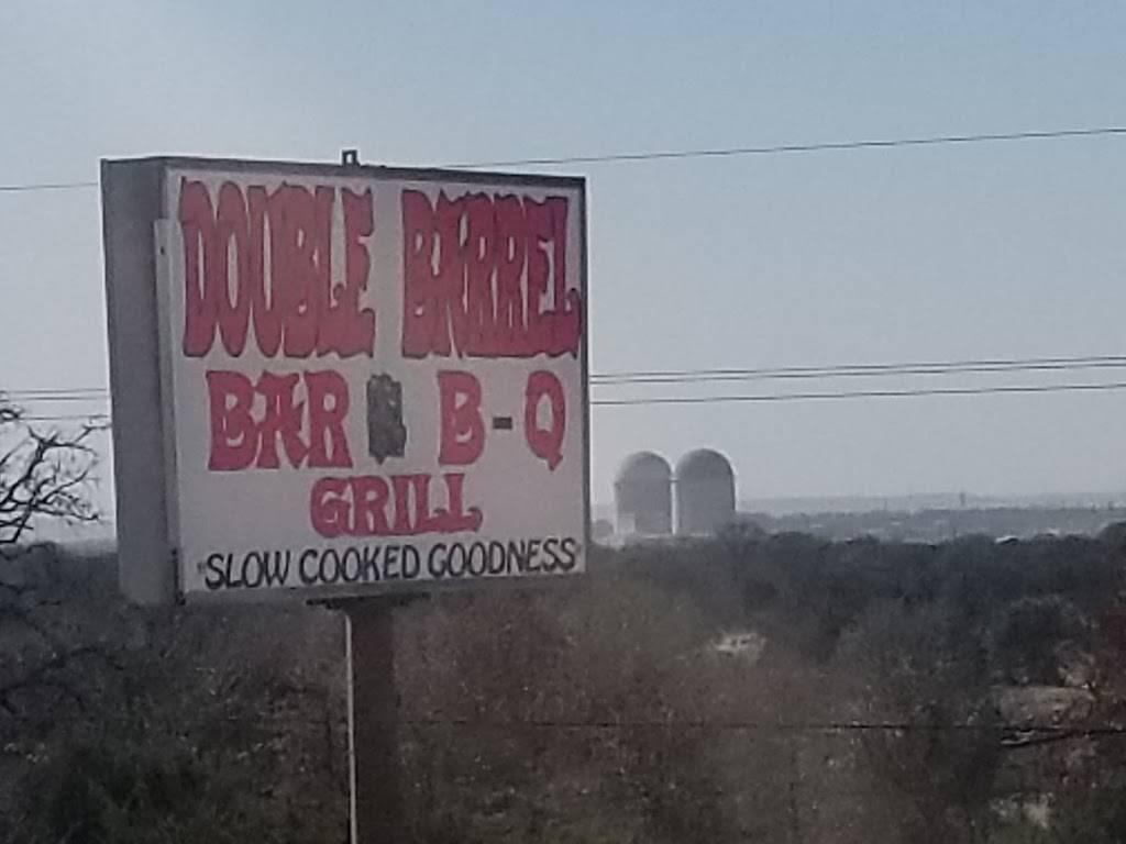 Double barrel bar-b-que and grill | restaurant | 8905 Glen Rose Hwy, Granbury, TX 76048, USA | 8175078344 OR +1 817-507-8344