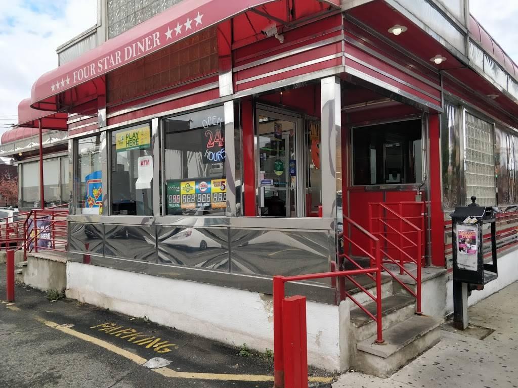 Four Star Diner | restaurant | 543 32nd St, Union City, NJ 07087, USA | 2018660101 OR +1 201-866-0101