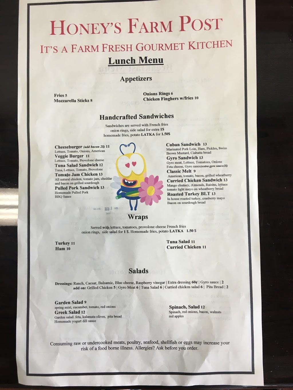 Honeys Farm Fresh Gourmet Kitchen   restaurant   2500 Philadelphia Ave, Ocean City, MD 21842, USA