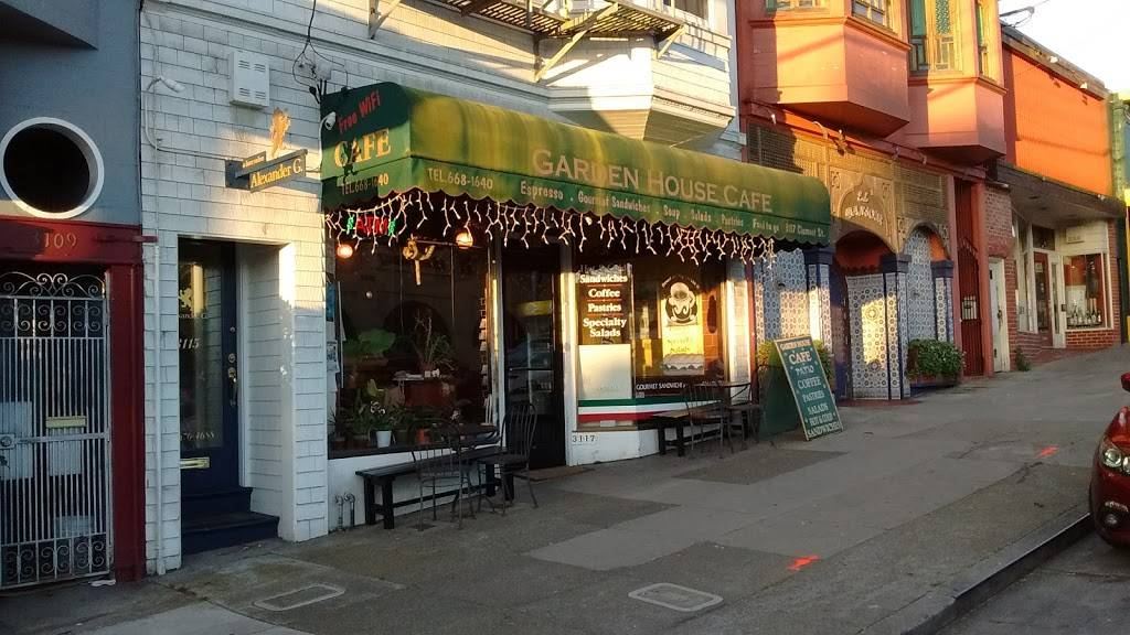 Garden House Cafe | cafe | 3117 Clement St, San Francisco, CA 94121, USA | 4156681640 OR +1 415-668-1640