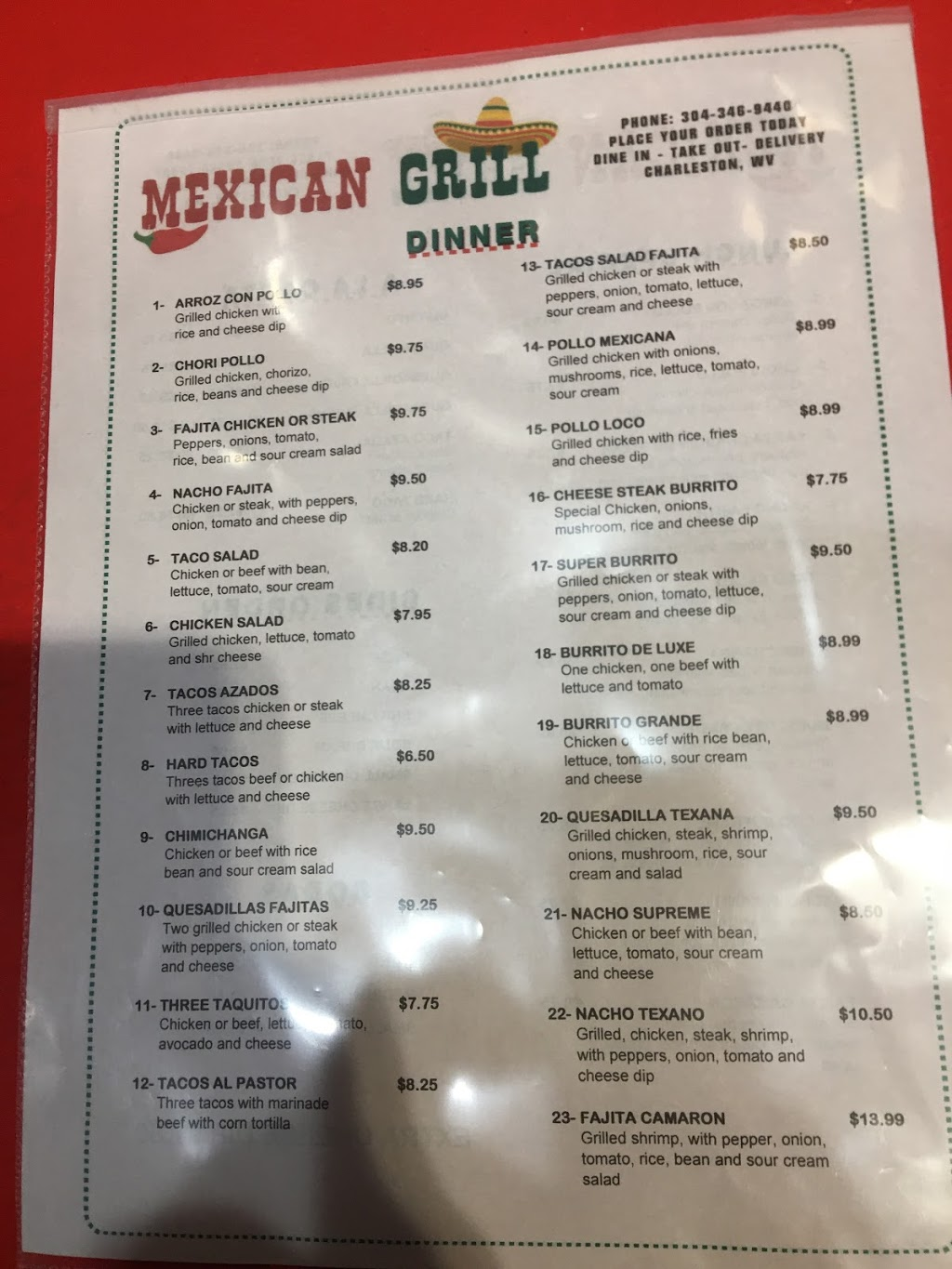 Mexican grill   shopping mall   3031 Charleston Town Center, Charleston, WV 25301, USA   3043469440 OR +1 304-346-9440