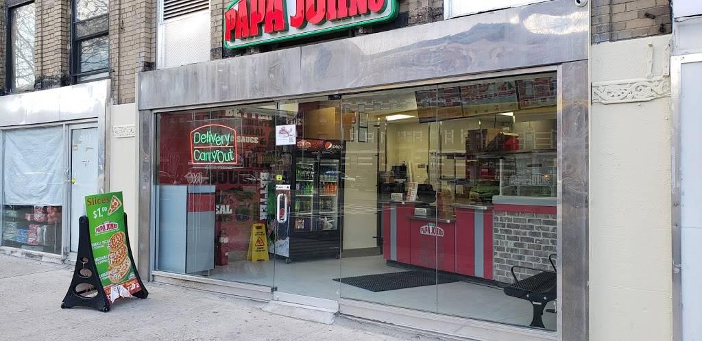 Papa Johns pizza   restaurant   4117 Broadway, New York, NY 10033, USA   2127957272 OR +1 212-795-7272