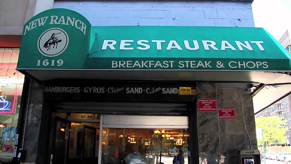New Ranch Restaurant | restaurant | 1619 Westchester Ave, Bronx, NY 10472, USA | 7189910708 OR +1 718-991-0708