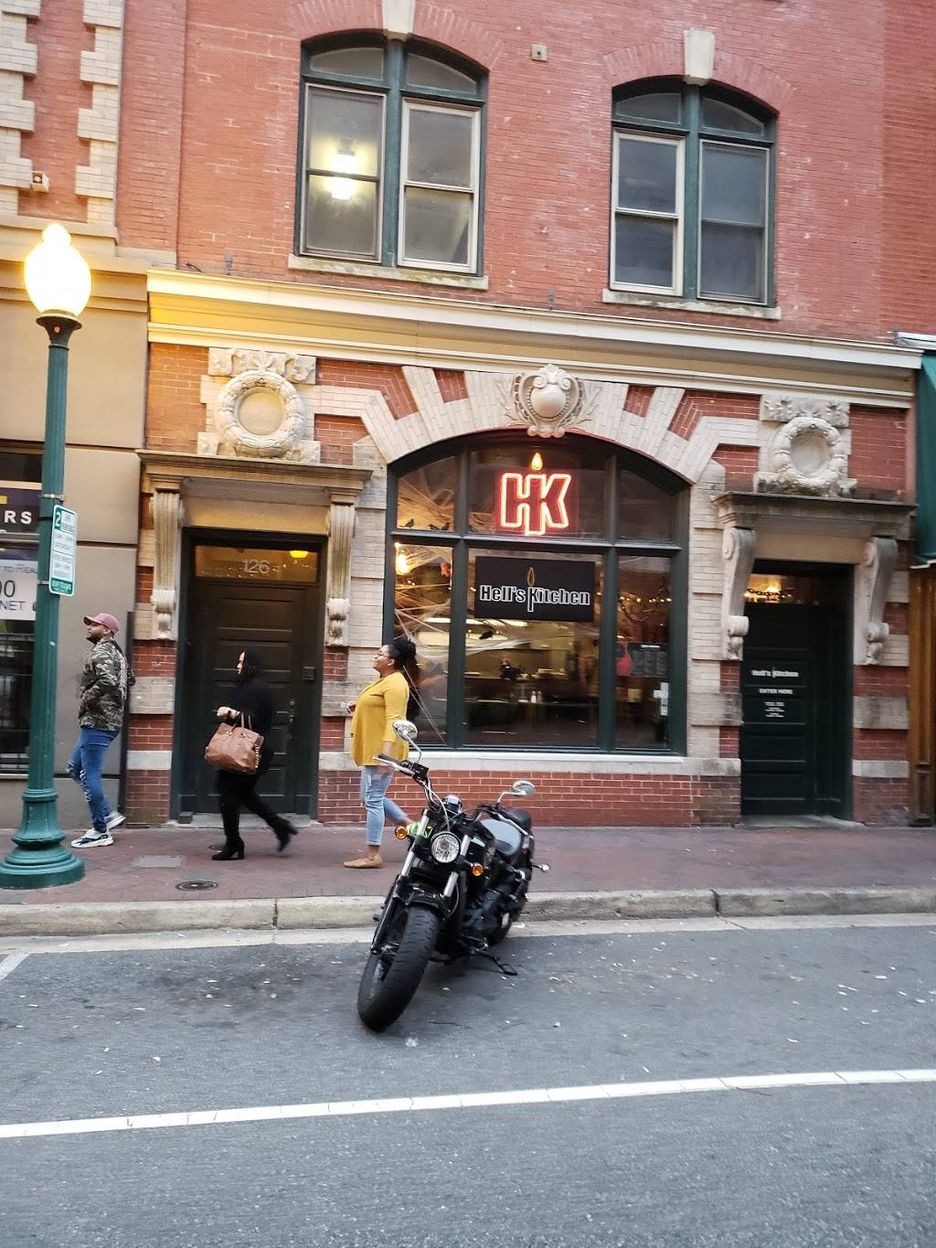 Hells Kitchen | restaurant | 124 Granby St, Norfolk, VA 23510, USA | 7576241906 OR +1 757-624-1906