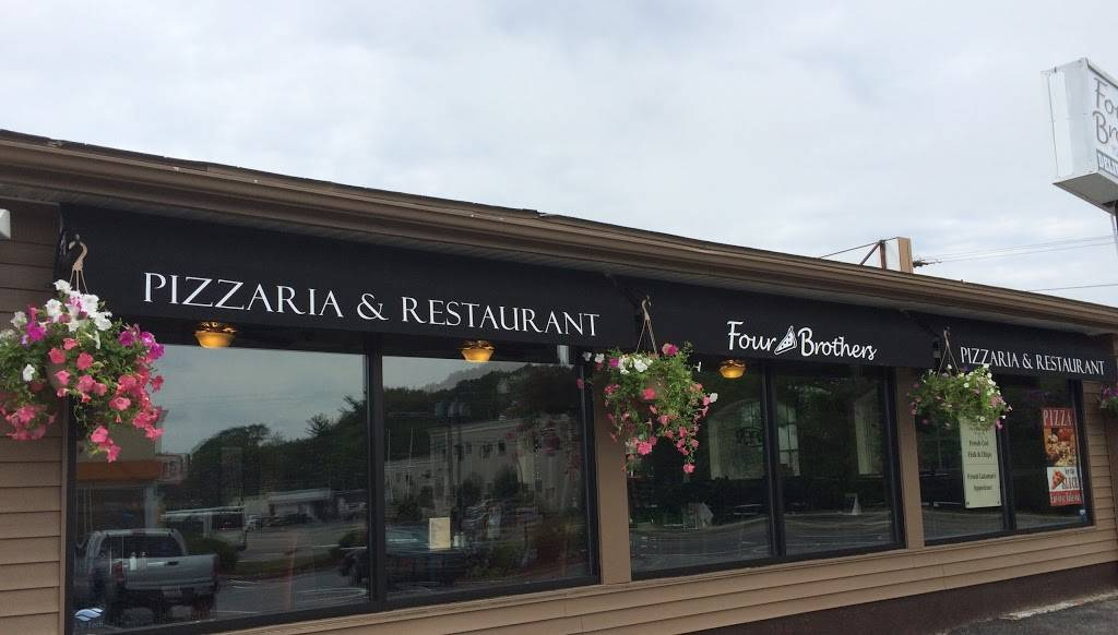 Four Brothers Pizzaria and Restaurant North Kingstown | meal delivery | 6921 Post Rd, North Kingstown, RI 02852, USA | 4018850453 OR +1 401-885-0453