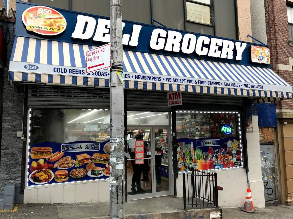 Waggy deli grocery | restaurant | 950B Anderson Ave, The Bronx, NY 10452, USA | 3475908933 OR +1 347-590-8933