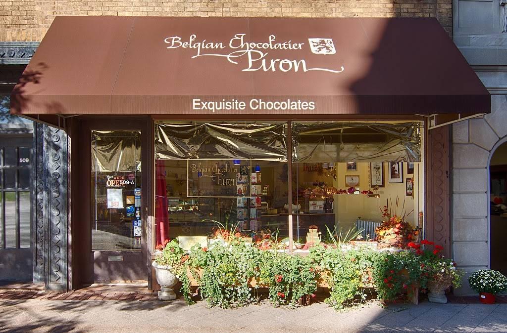 Belgian Chocolatier Piron, Inc.   restaurant   509-A Main St, Evanston, IL 60202, USA   8478645504 OR +1 847-864-5504