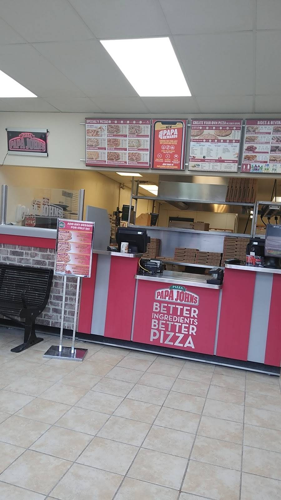 Papa Johns Pizza   restaurant   721 Anderson Ave, Cliffside Park, NJ 07010, USA   2019437272 OR +1 201-943-7272