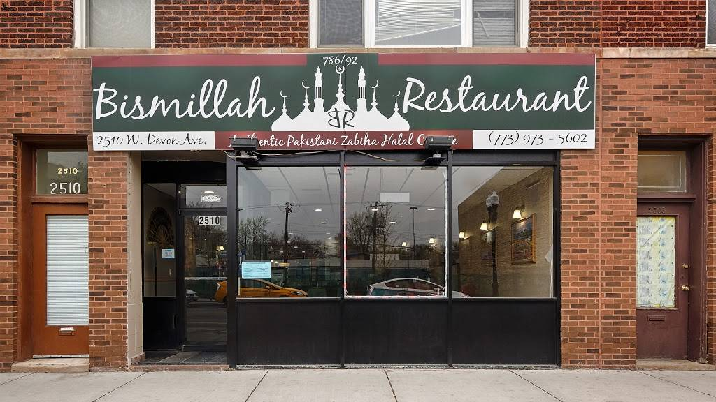 Bismillah Restaurant   2510 W Devon Ave, Chicago, IL 60659, USA