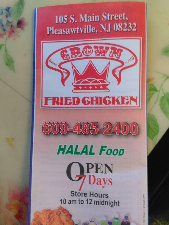 Crown Chicken - Restaurant   105 S Main St, Pleasantville