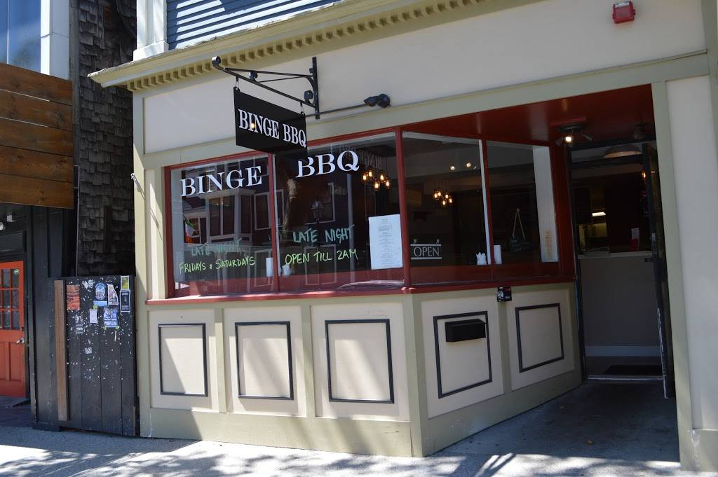 Binge BBQ | restaurant | 12 Broadway, Newport, RI 02840, USA | 4016193799 OR +1 401-619-3799