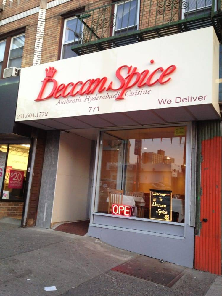 Deccan Spice | restaurant | 771 Newark Ave, Jersey City, NJ 07306, USA | 2016041772 OR +1 201-604-1772