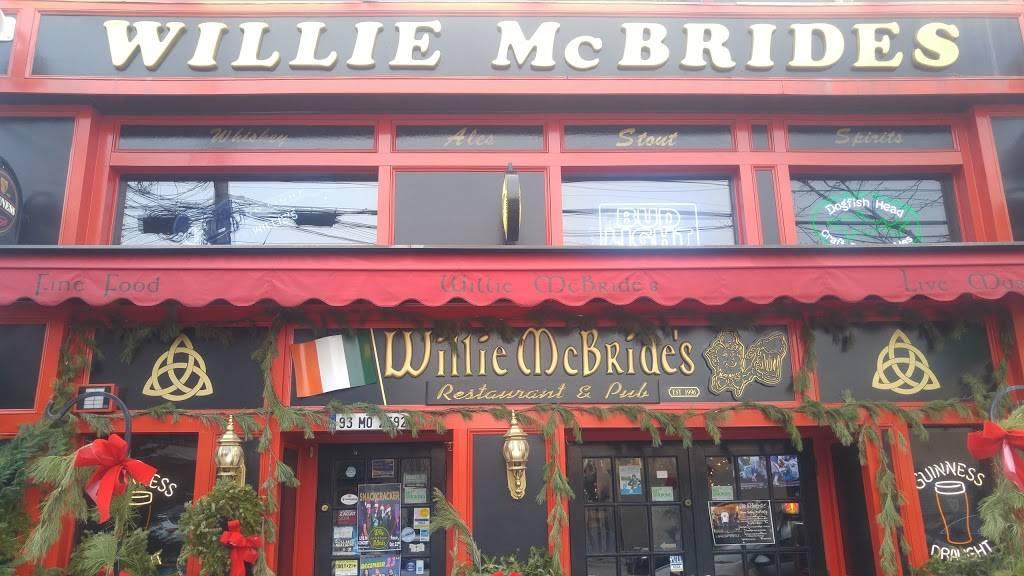 Willie McBride's | restaurant | 616 Grand St, Hoboken, NJ 07030, USA | 2016101522 OR +1 201-610-1522