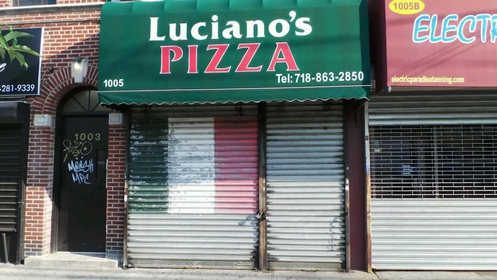 Luciano Pizza | restaurant | 1005 Morris Park Ave # A, Bronx, NY 10462, USA | 7188632850 OR +1 718-863-2850
