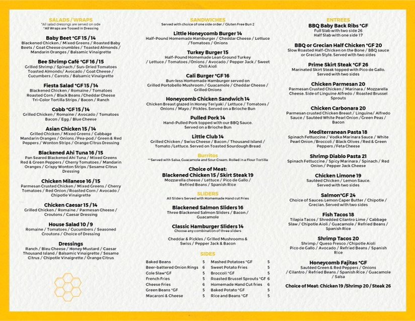Little Honeycomb | restaurant | 540 Lincoln Ave #2327, Winnetka, IL 60093, USA | 8473866218 OR +1 847-386-6218