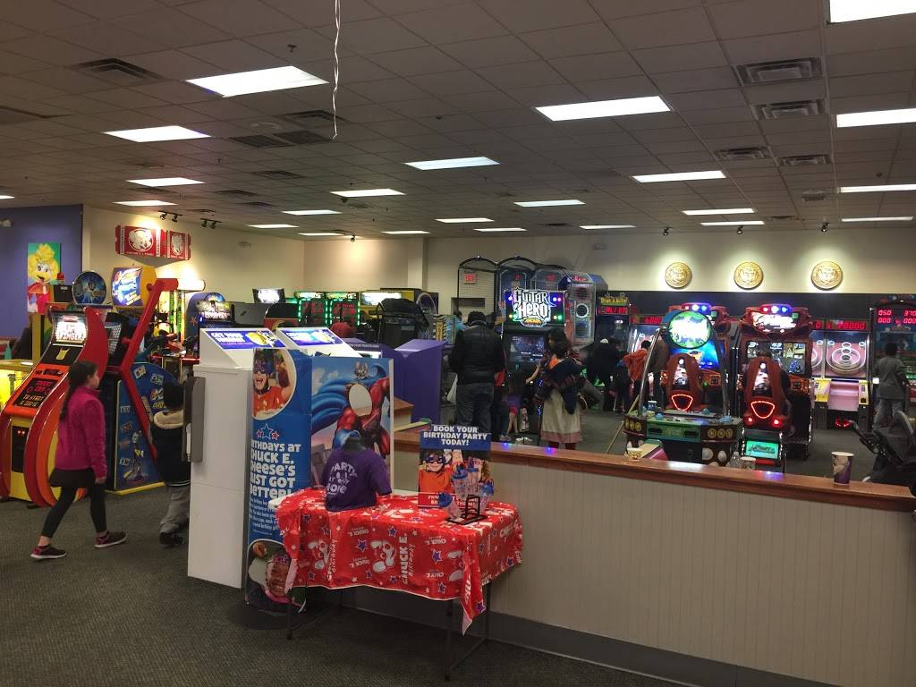 Chuck E. Cheeses | restaurant | 8101 Tonnelle Ave, North Bergen, NJ 07047, USA | 2018611799 OR +1 201-861-1799