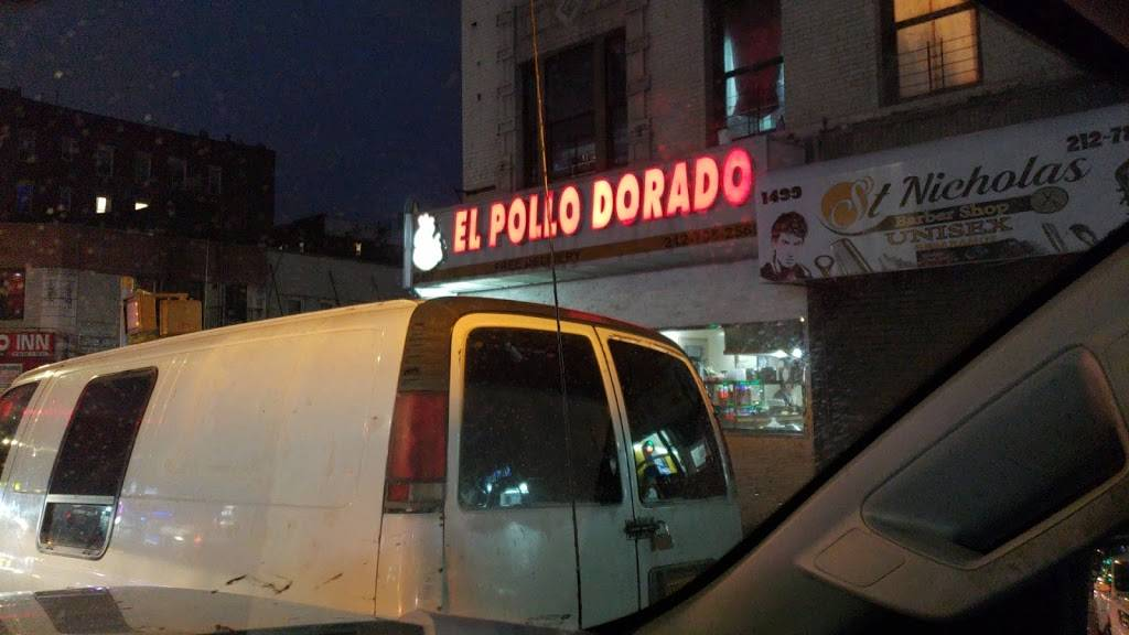 El Pollo Dorado | restaurant | 1497 St Nicholas Ave, New York, NY 10033, USA | 2127952569 OR +1 212-795-2569