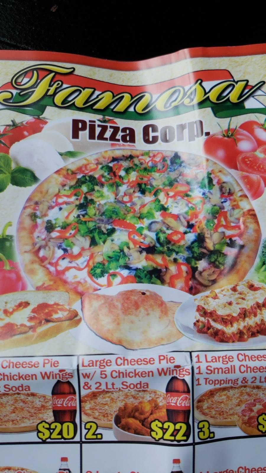 Famosa Pizza   restaurant   621 E 187th St, Bronx, NY 10458, USA   9176881312 OR +1 917-688-1312