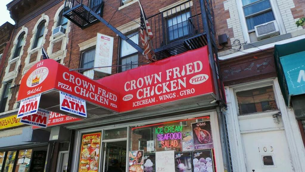 Crown Fried Chicken | restaurant | 101 Ralph Ave, Brooklyn, NY 11221, USA | 3477871967 OR +1 347-787-1967