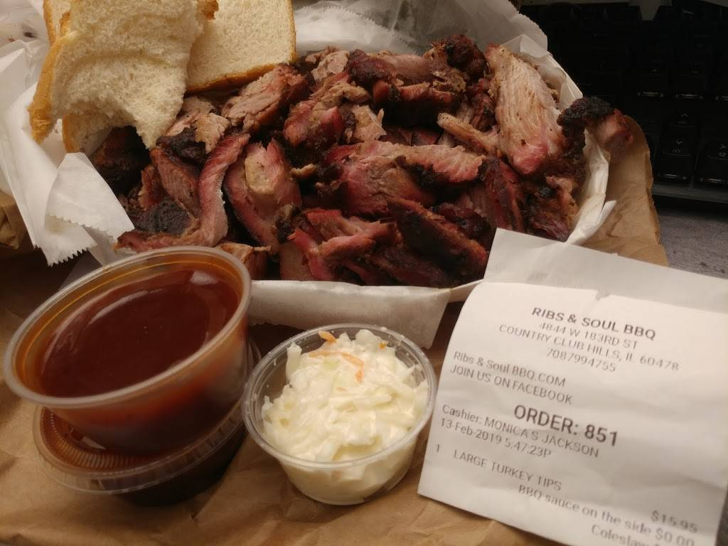 Ribs and Soul BBQ | restaurant | 4844 183rd St, Country Club Hills, IL 60478, USA | 7087994755 OR +1 708-799-4755