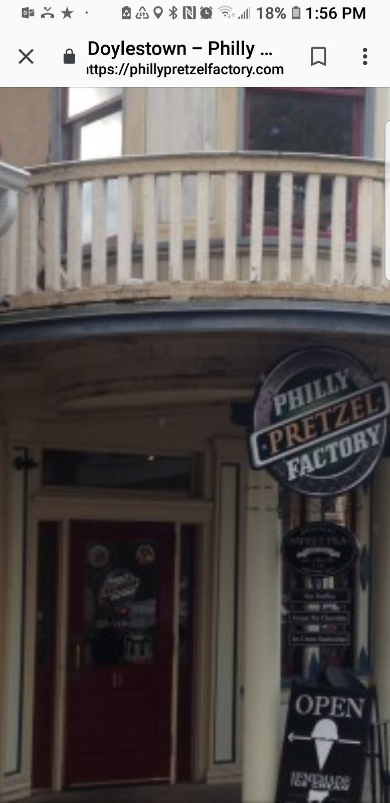 Philly Pretzel Factory | bakery | 5742 Lower York Rd, Lahaska, PA 18931, USA | 2157945105 OR +1 215-794-5105